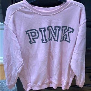 """Pink """"pink"""" crewneck"""